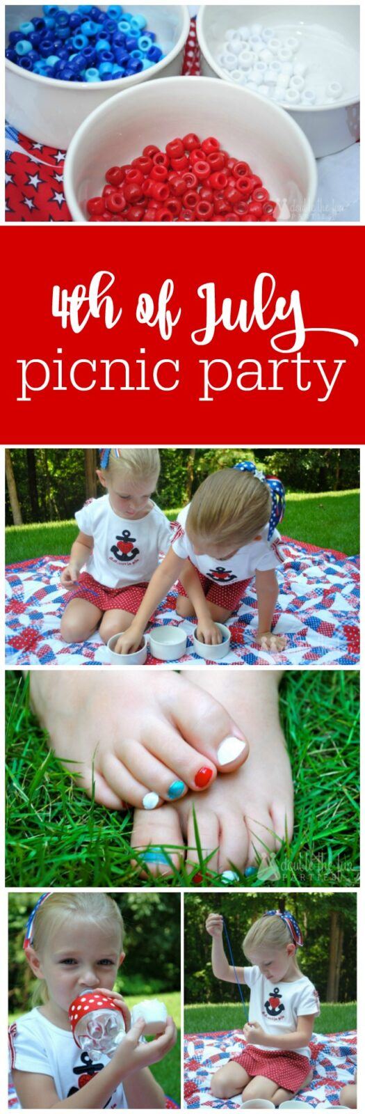 4th of July Picnic Party by The Party Teacher