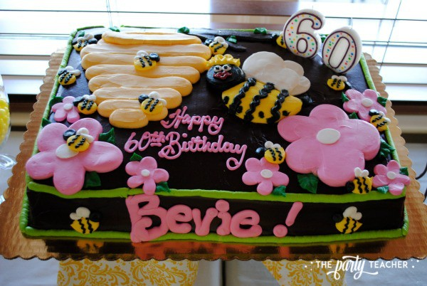 Bee Party by The Party Teacher - Birthday Cake