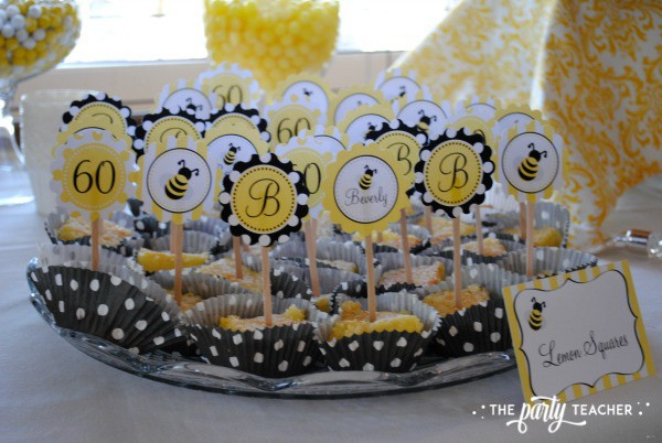 Bee Party by The Party Teacher - Lemon Squares