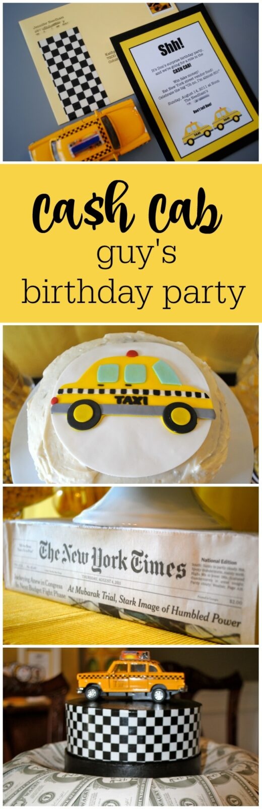Cash Cab guy's birthday party by The Party Teacher