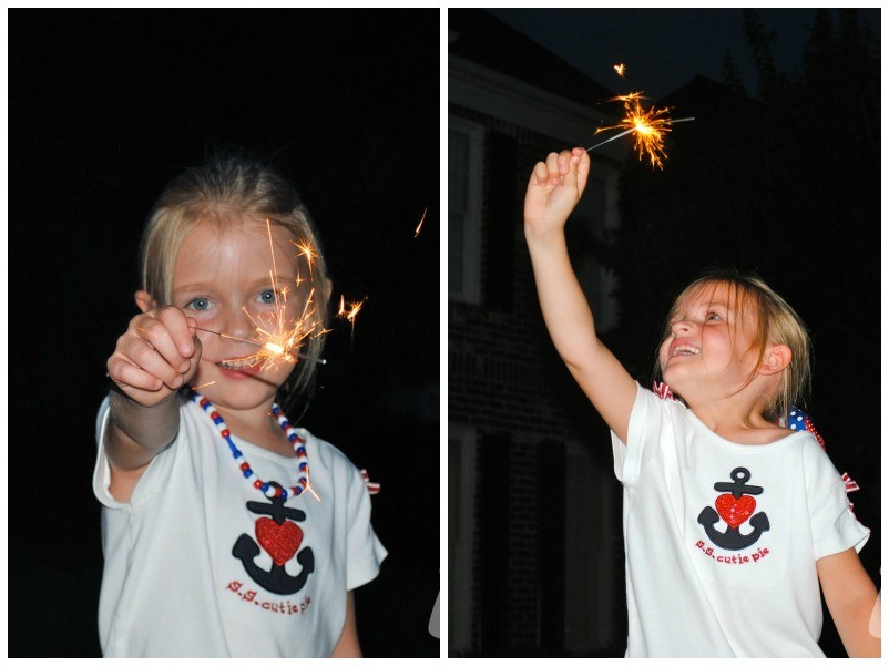 DFP 4th of July 2011 sparklers