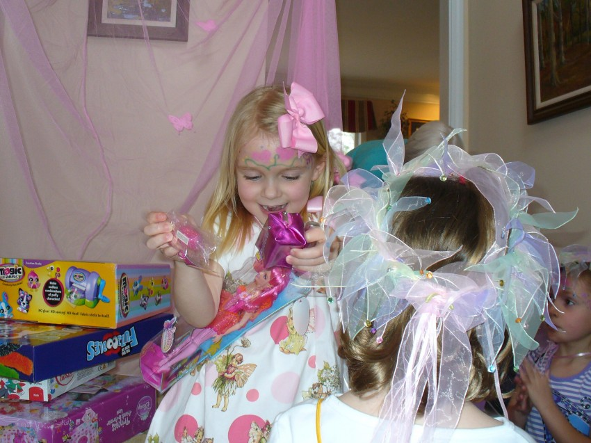Opening presents 3