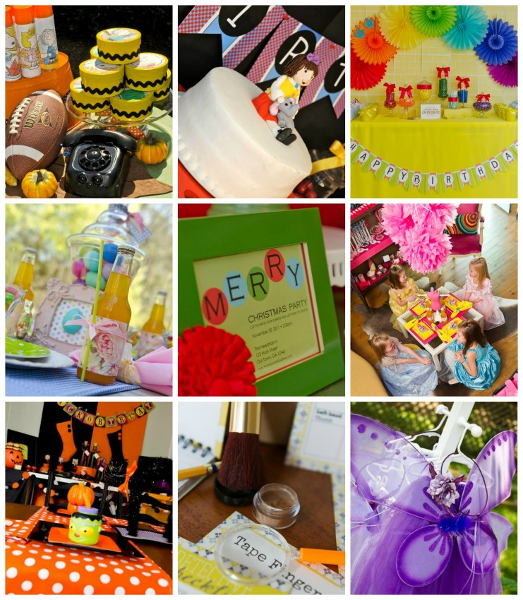 Party Kits Collage