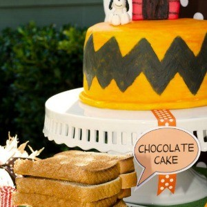 My Parties: Charlie Brown Thanksgiving Party