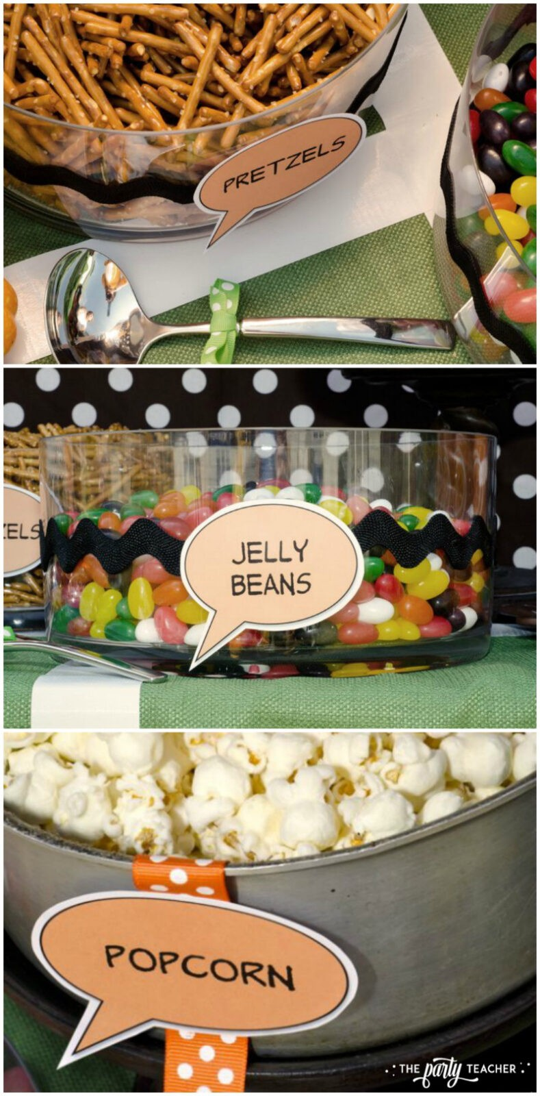 Charlie Brown Thanksgiving Party by The Party Teacher - party food