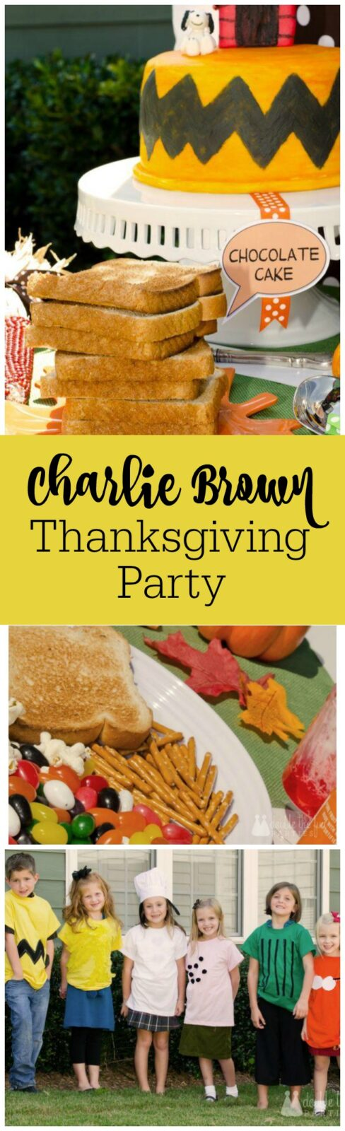Charlie Brown Thanksgiving Party by The Party Teacher