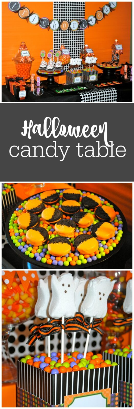 Halloween Candy Table by The Party Teacher