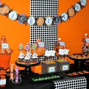 My Parties: Sweet (Not Spooky) Halloween Party – Part 1