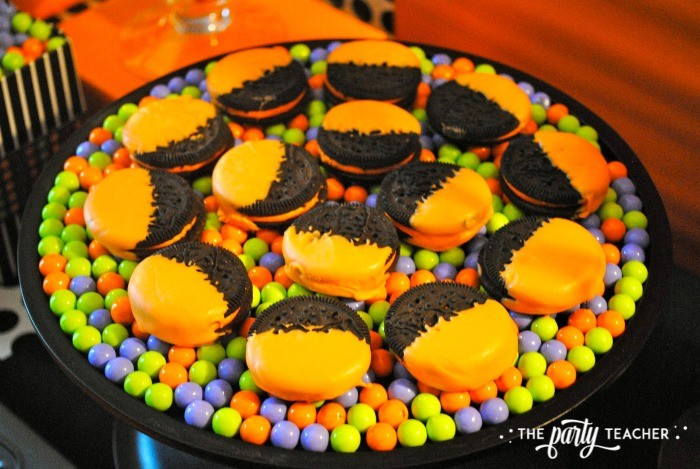 Sweet Not Spooky Halloween Party by The Party Teacher-Oreos