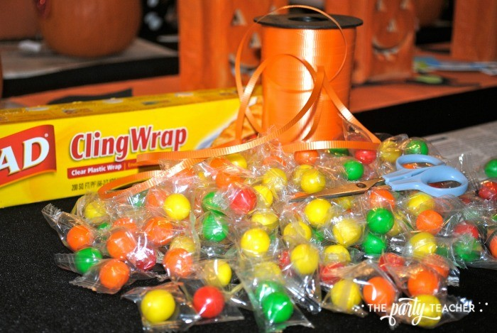 Sweet Not Spooky Halloween Party by The Party Teacher-candy necklaces