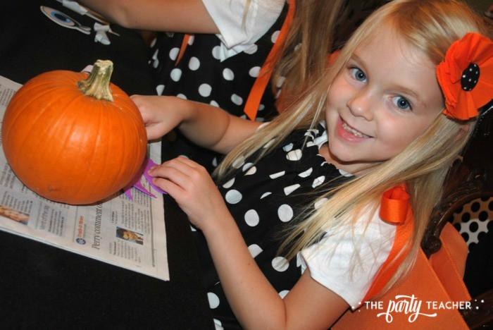 Sweet Not Spooky Halloween Party by The Party Teacher-pumpkin G