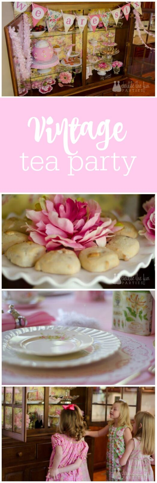 Vintage Tea Party-2 by The Party Teacher