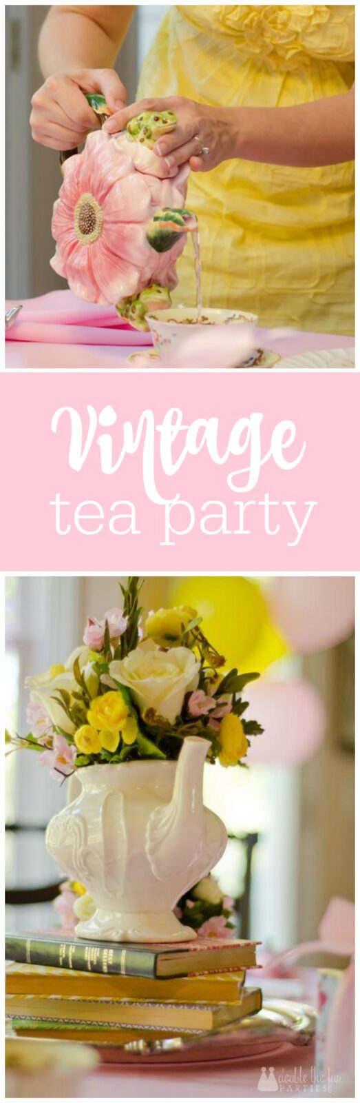 Vintage Tea Party by The Party Teacher
