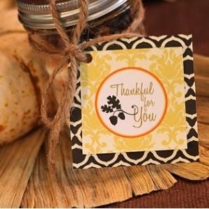 Freebie Friday: Thanksgiving Gift Tag