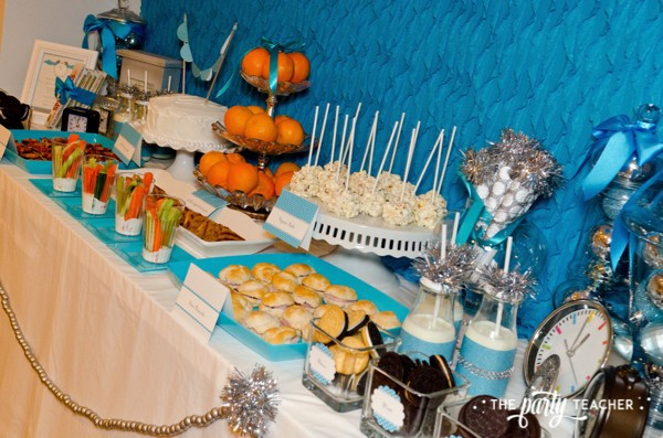 Budget Friendly New Years Eve Block Party by The Party Teacher - dinner and desserts