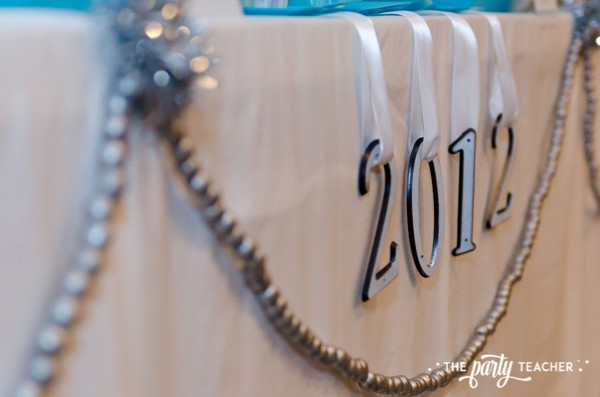 Budget Friendly New Years Eve Block Party by The Party Teacher - house numbers
