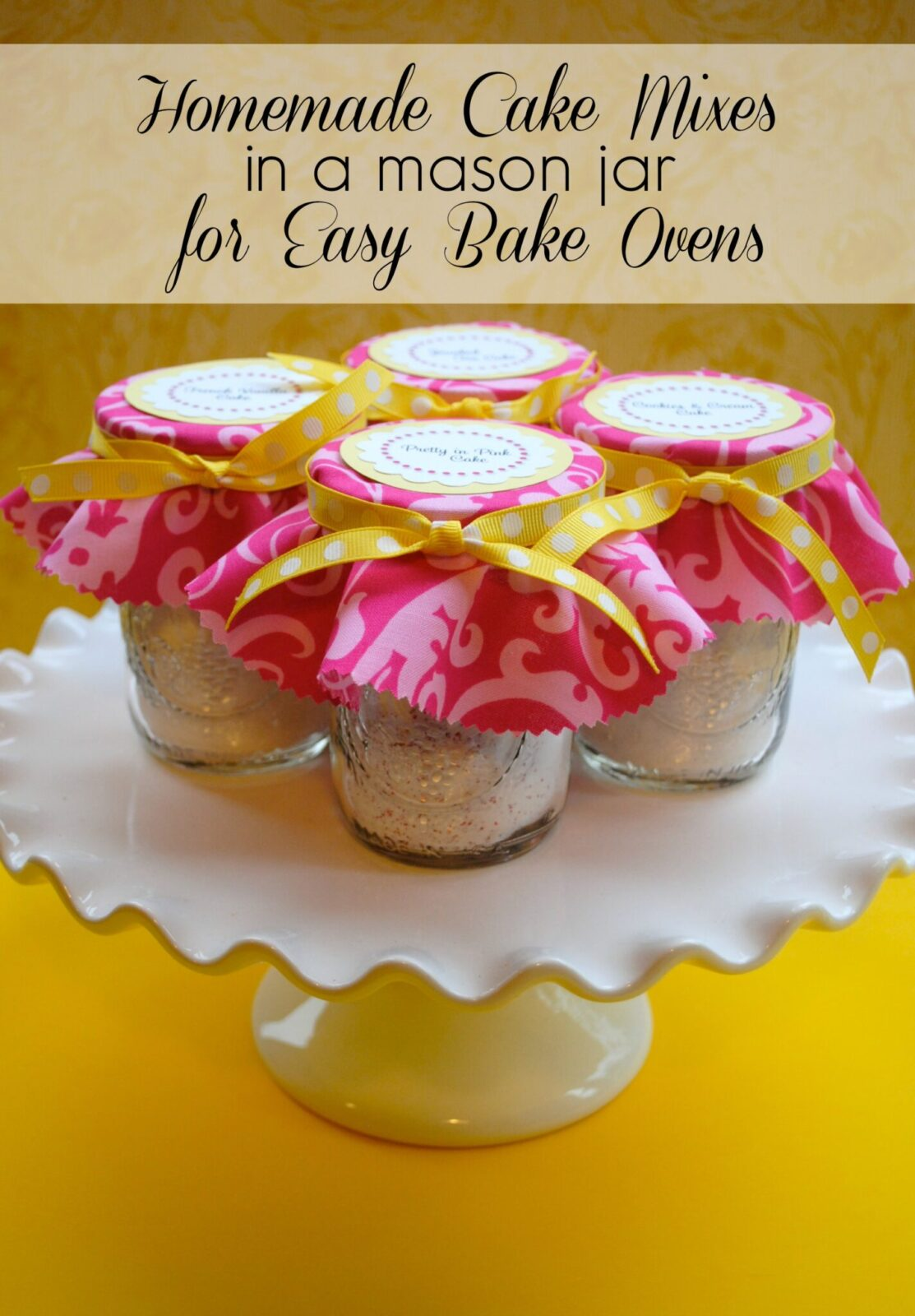 Can you make Easy Bake desserts without the mixes?