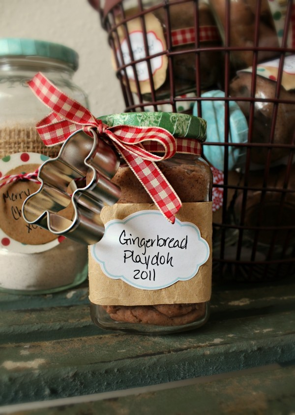 Sugarbelle gingerbread playdoh