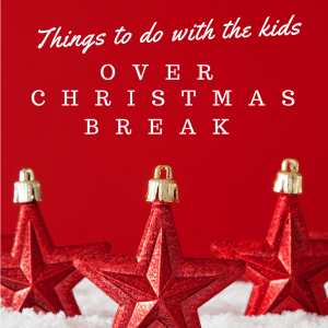 Things to Do With the Kids Over Christmas Break