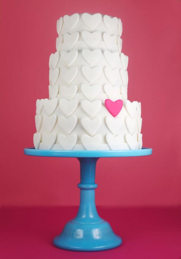Bakerella Valentines Cake
