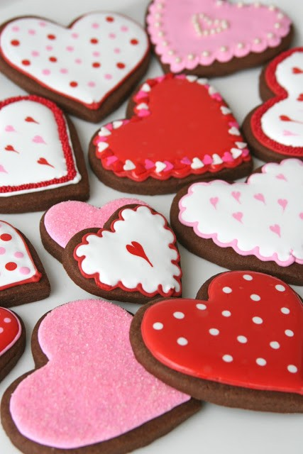 Glorious Treats Chocolate Valentine Cookies