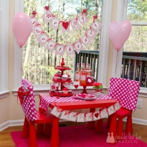 My Parties: Valentine's Sweetheart Party + Free Printable