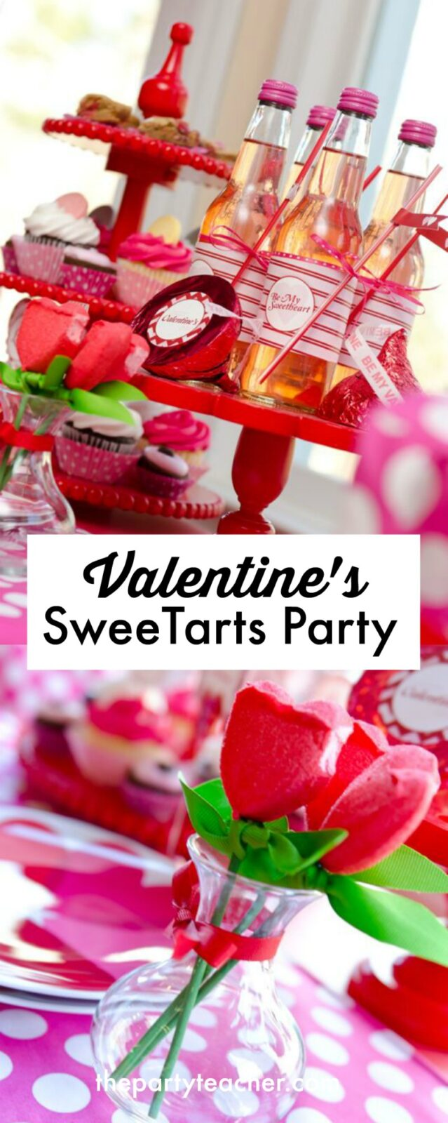 Valentine's SweeTarts Party by The Party Teacher