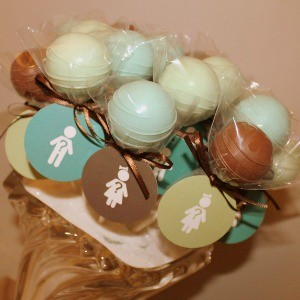 Guest Party: Mint and Teal Gender Reveal Party