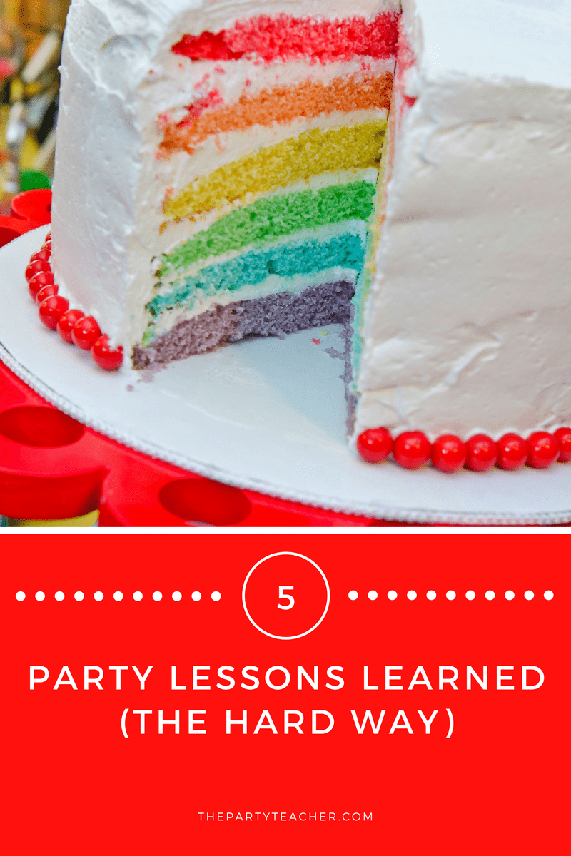 Party Lessons Learned