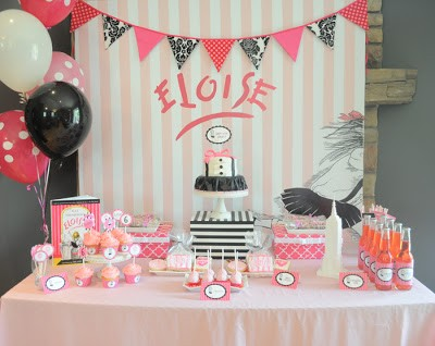 Eloise Party Backdrop