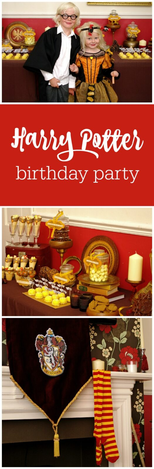 Guest Party: Happy Hogwarts Harry Potter Birthday Party for