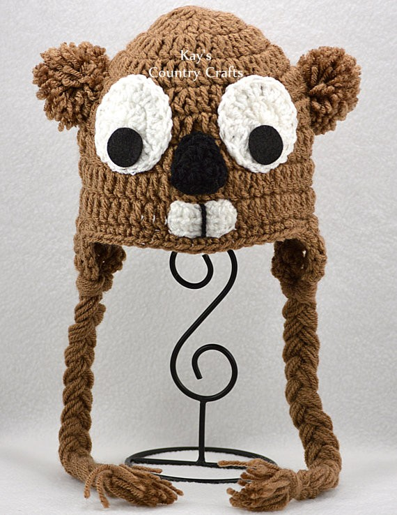 Kays Country Crafts Groundhog Hat