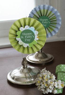St. Patrick's Day Rosettes
