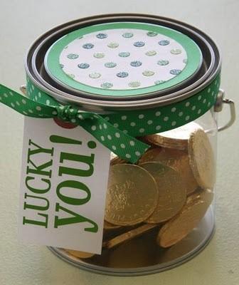 St. Patrick's Day Treat Bucket