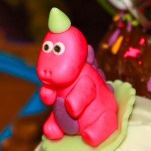 Giveaway Winner Party: Purple & Green Girl's Dinosaur Birthday