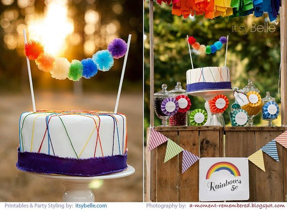Cake Tulle Bunting