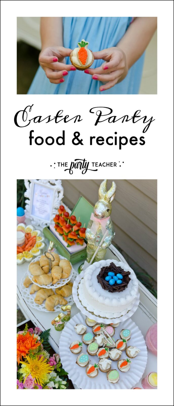 Easter Party food and recipes by The Party Teacher