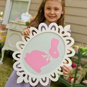 Tutorial: Easter Bunny Frame