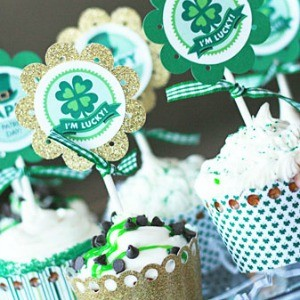 Freebie Friday: Free St. Patrick's Day Party Printables