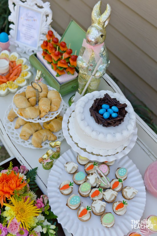 Shabby Chic Easter Party by The Party Teacher-112