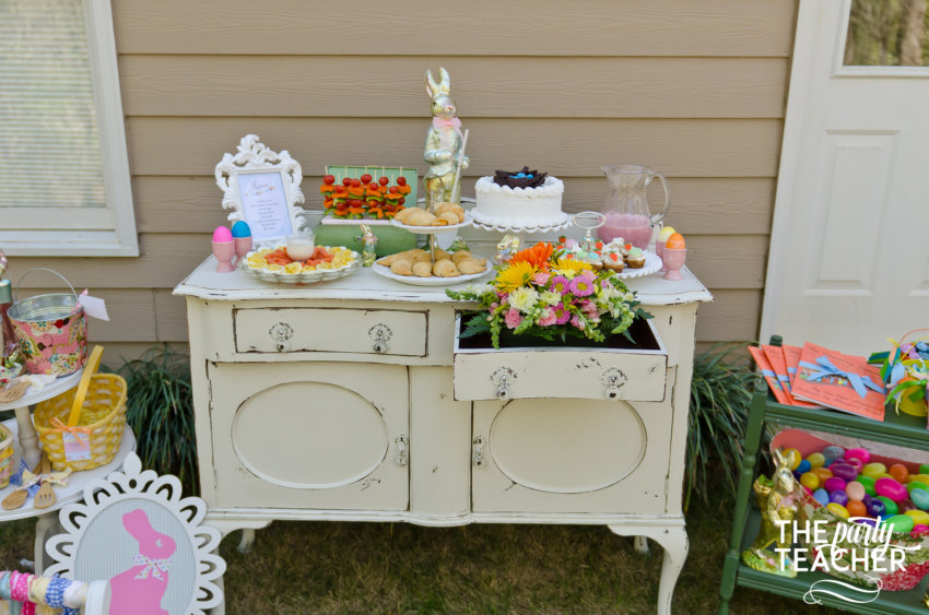 Shabby Chic Easter Party by The Party Teacher-114