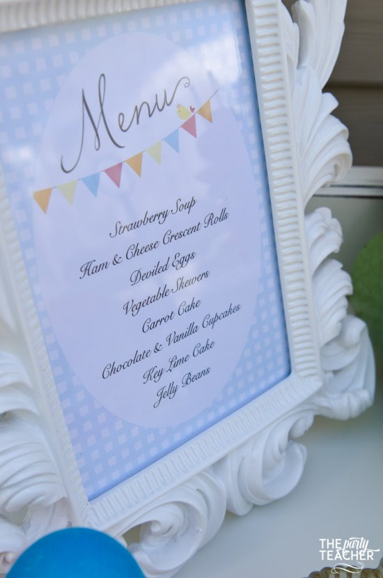 Shabby Chic Easter Party by The Party Teacher-93