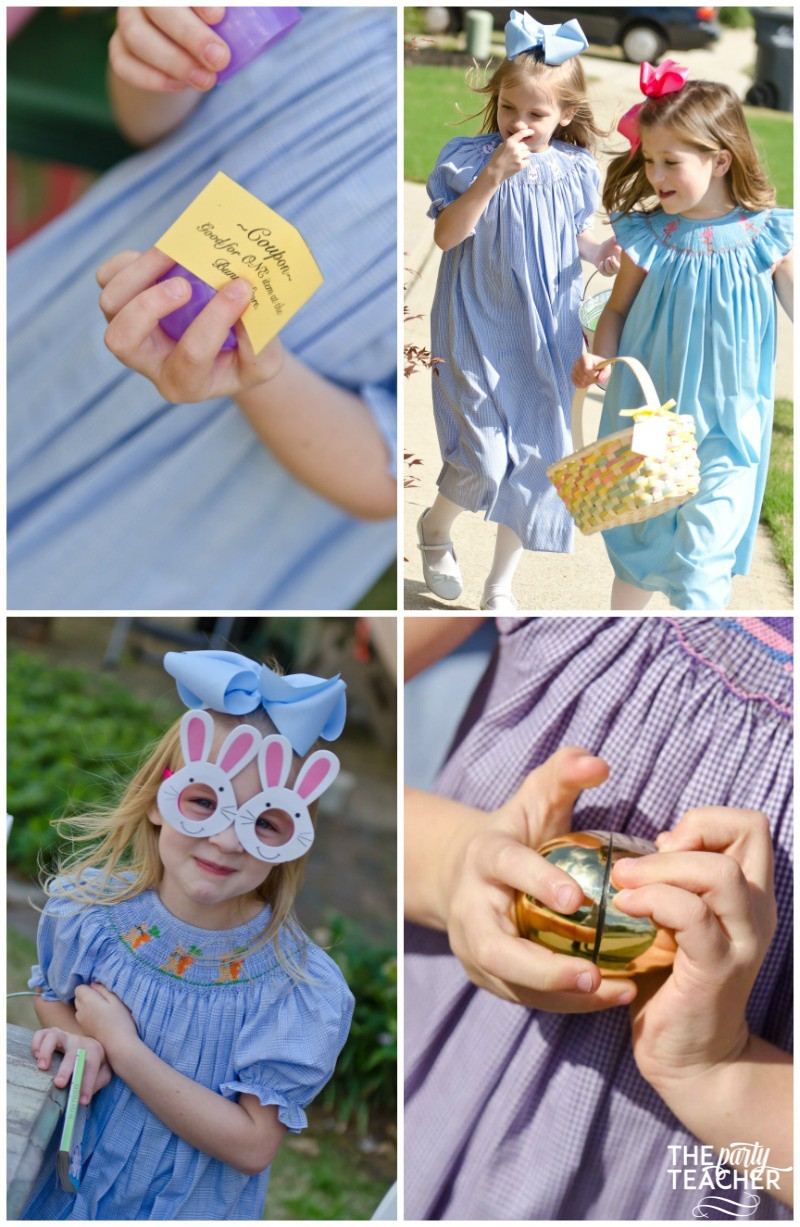Shabby Chic Easter Party egg hunt-3 by The Party Teacher