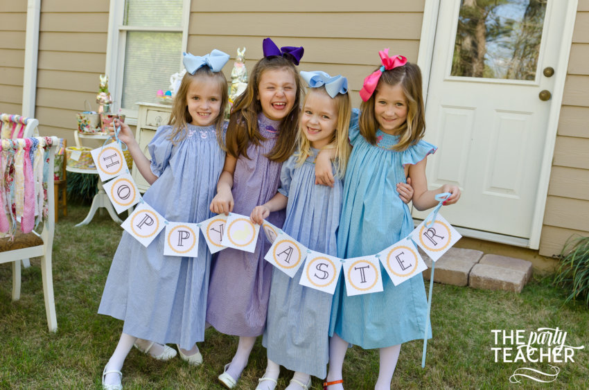 Shabby Chic Easter Party by The Party Teacher-173