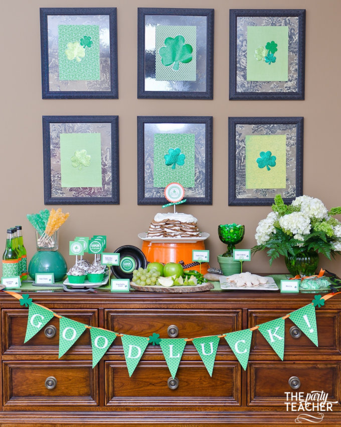 St. Patrick's Day Party by The Party Teacher - 25