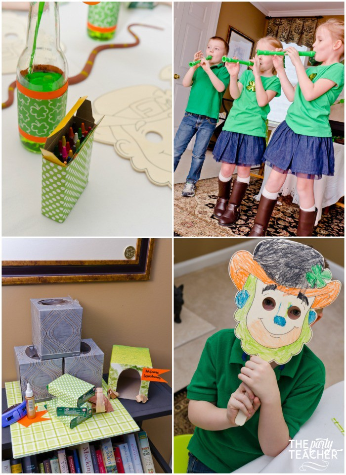 St. Patrick's Day Party for kids by The Party Teacher - party activities