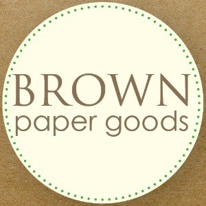 Sponsor Love: Brown Paper Goods