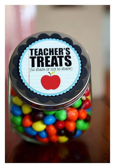 FF eighteen25 teacher treat jar