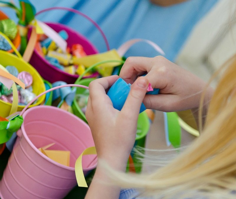 Shabby Chic Easter Party Games
