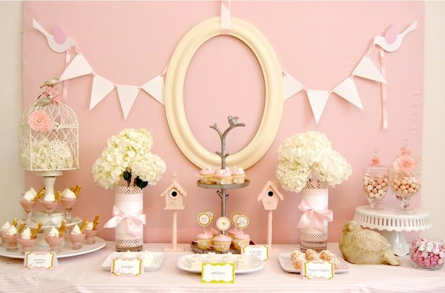 Celebrations at Home Bird Baby Shower